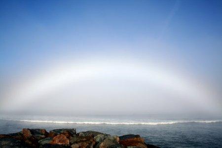 Туманная дуга над Оушен-Бич